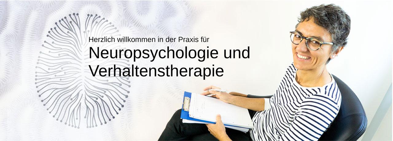 Header Start Willkommen in der Praxis für Neuropsychologie und Verhaltenstherapie Dr. Fatma Sürer
